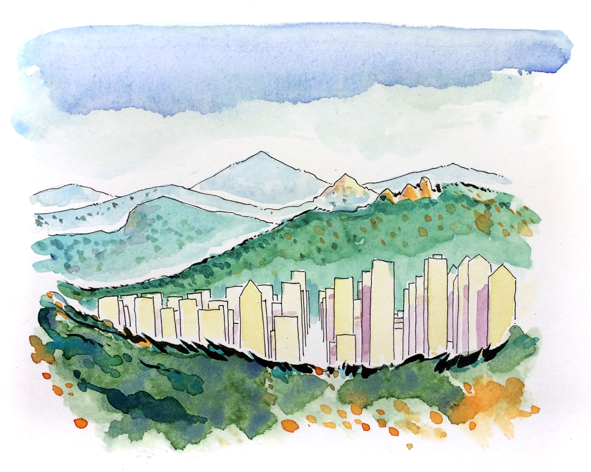 Korean Hills (mountains)