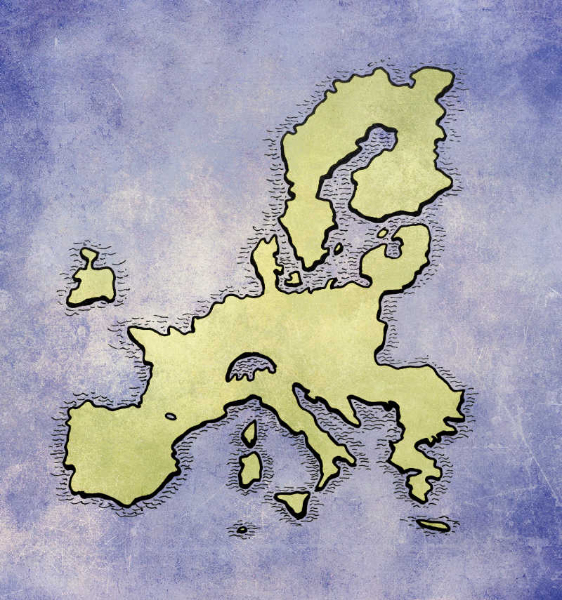 The not-quite German empire of Europe.