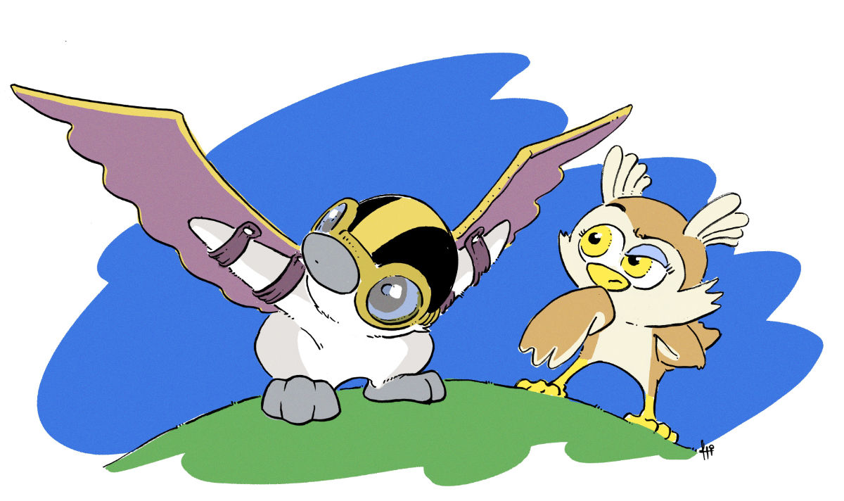 Penguinton Can Fly