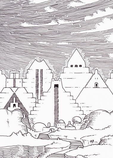 The Ziggurat Mountains