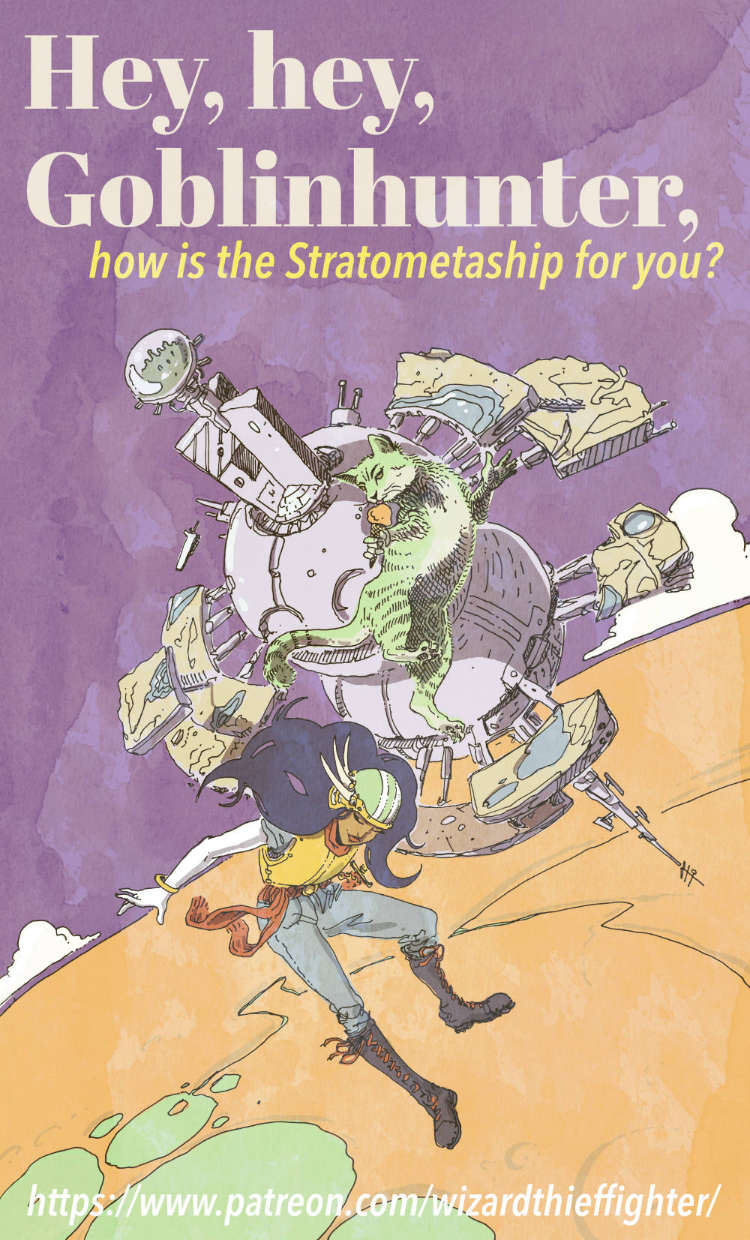 Stratometaship welcome poster.