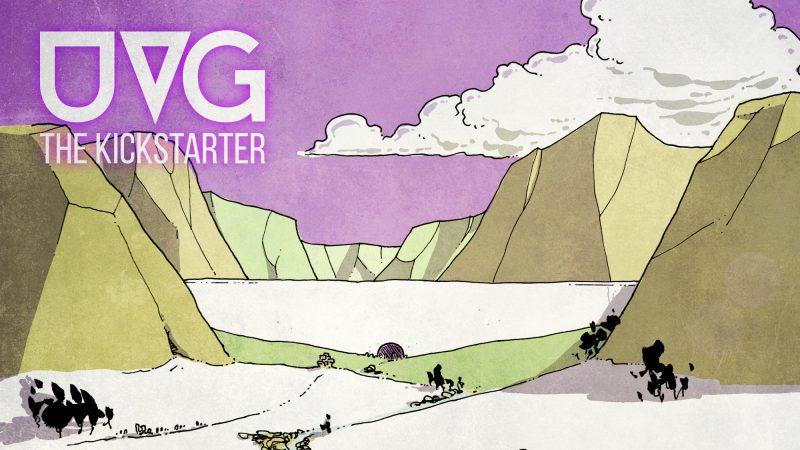 The UVG Kickstarter Header.